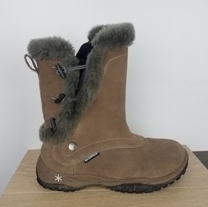 Baffin | Waterproof Leather Winter Boots Brown